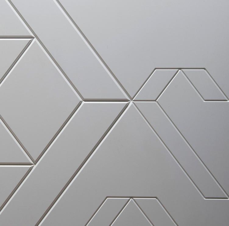 NANOTECH MATT MATERIAL FENIX NTM® è un materiale innovativo per l'interior design: una superficie intelligente, estremamente opaca, anti-impronta, molto resistente e morbida al tatto.